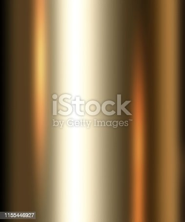 istock Golden Textured Background, Gold Metallic Foil Sheet 1155446927