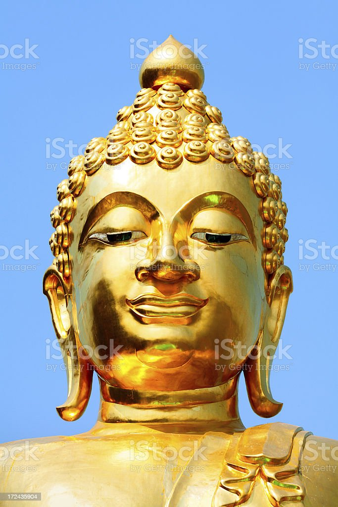 Golden Triangle Buddha royalty-free stock photo