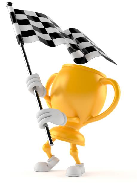 Golden trophy character waving race flag picture id1048022018?b=1&k=6&m=1048022018&s=612x612&w=0&h=ainldn5zpg38jzkunfaojldwabapp5ketqyuxedqwf8=