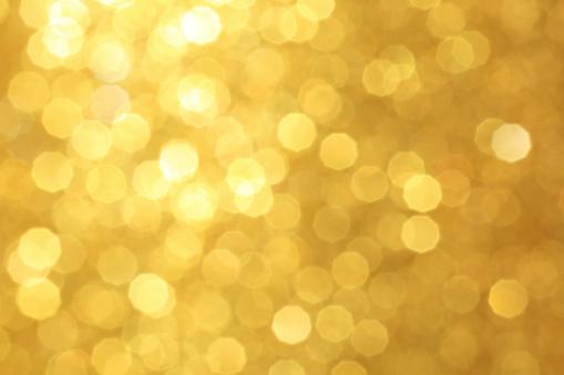 Golden glittery background
