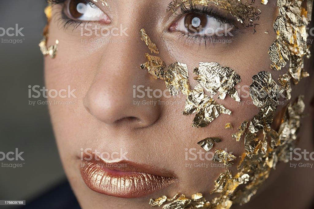 Golden Warrior royalty-free stock photo