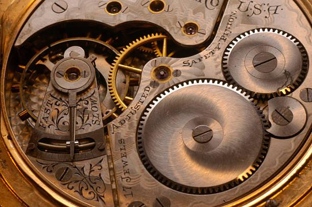 golden watch getriebe - detailliert stock-fotos und bilder