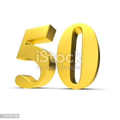 istock Golden wedding 155752195