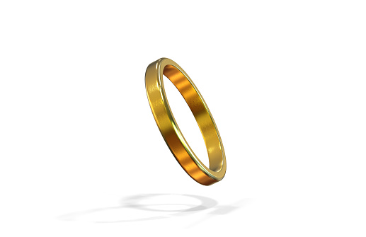 Wedding Ring, Ring - Jewellery, Single Object, Gold, Jewellery