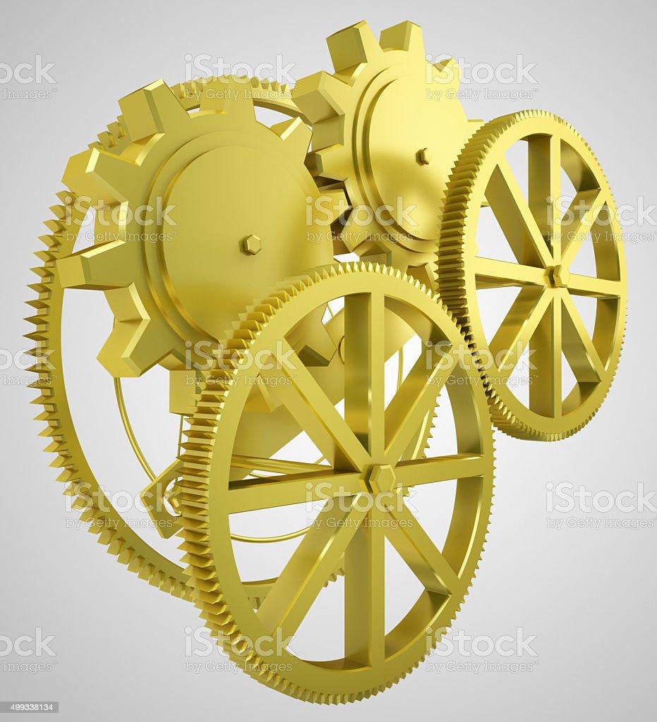 golden wheels stock photo