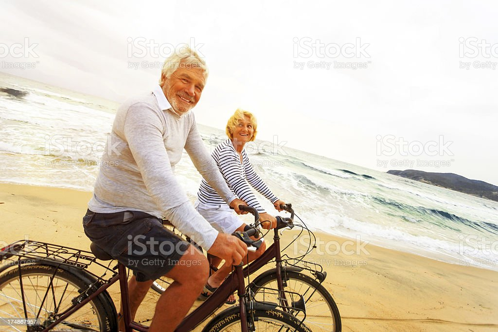 Golden years royalty-free stock photo