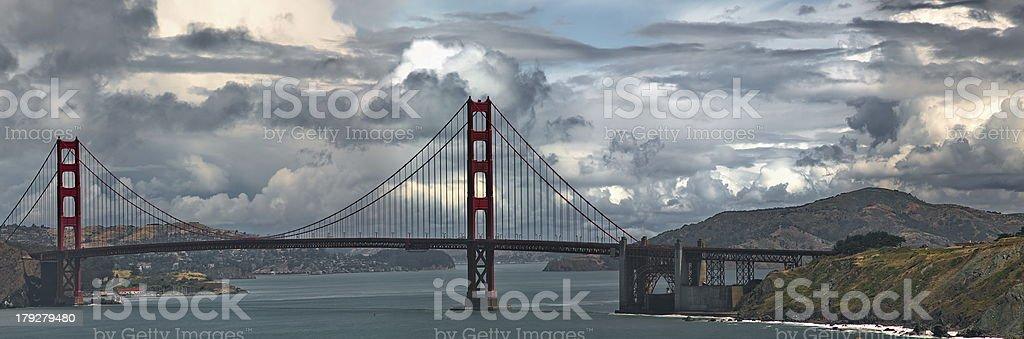 Golder Gate Bridge royalty-free stock photo