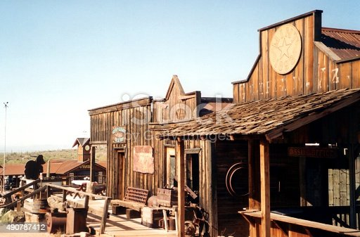 Goldfield ghost town, located northeast of Apache Junction in Pinal County, Arizona.