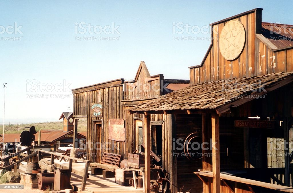 Goldfield ghost town, Apache Junction - Arizona stock photo