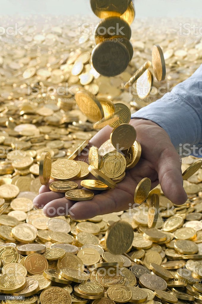 goldfinger royalty-free stock photo