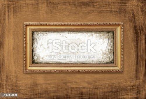 istock Gold&Grunge Style Frame (XXL) 92096468