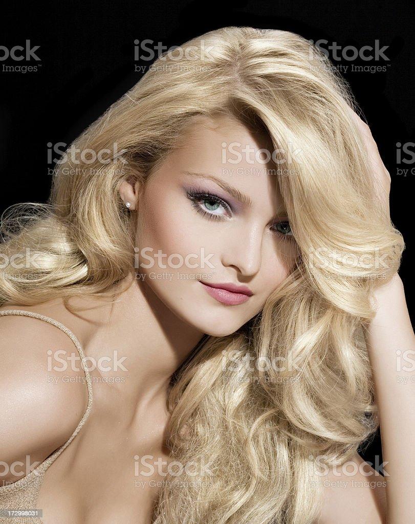 Goldilocks royalty-free stock photo