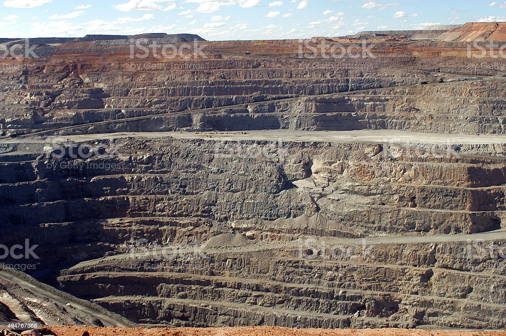 Goldmine of Kalgoorlie stock photo