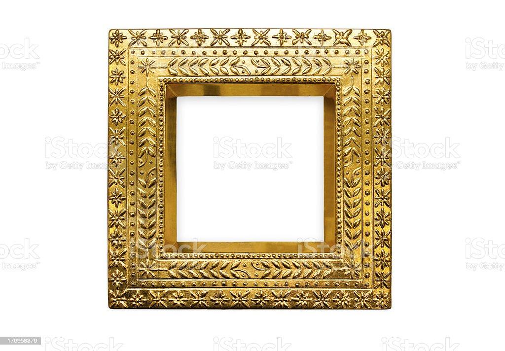Goldrahmen stock photo