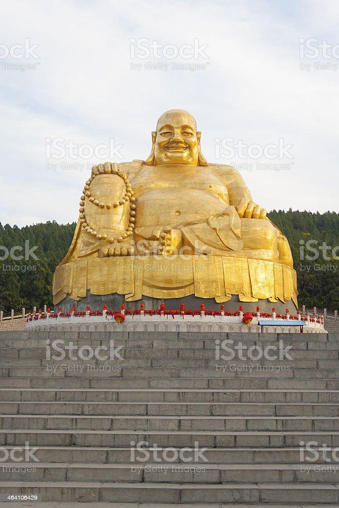 gole Buddha Statue royalty-free stock photo