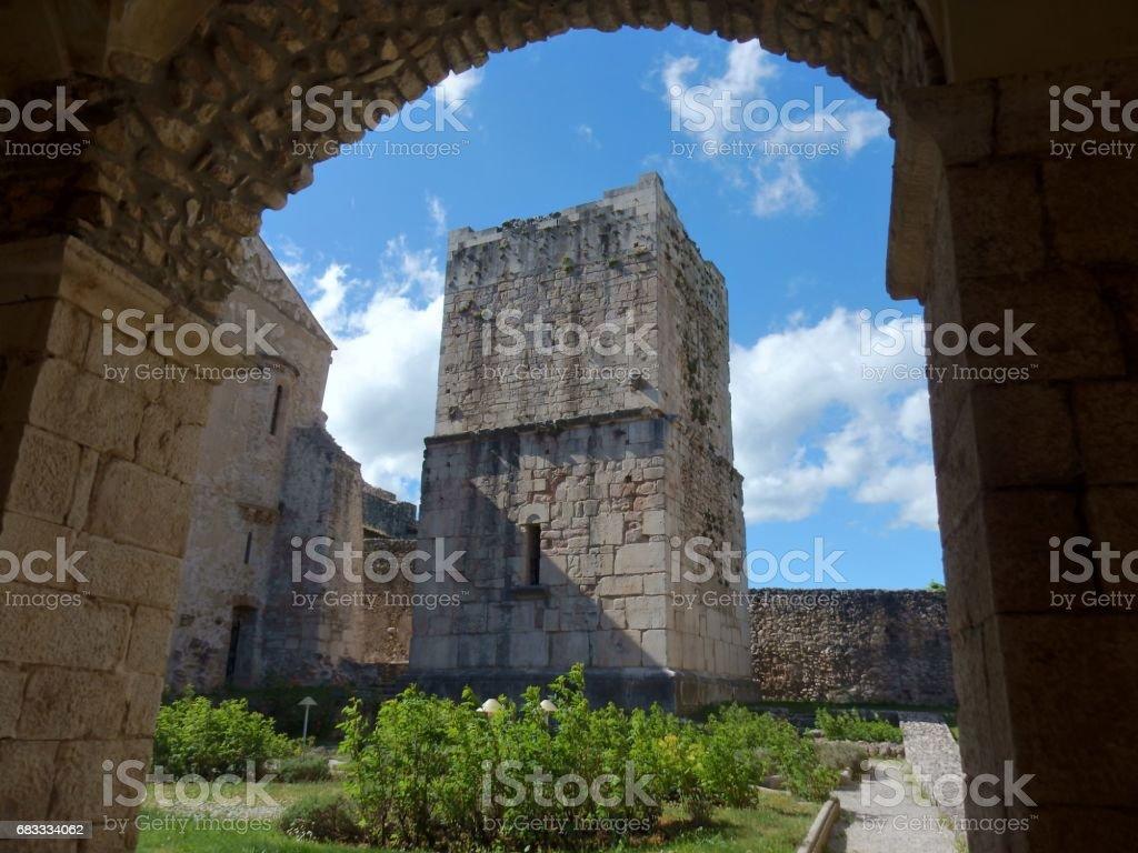 Goleto - Torre dell'abbazia royalty-free stock photo
