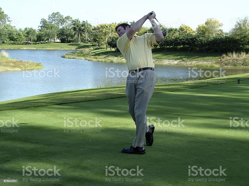 Golf 1 royalty-free stock photo