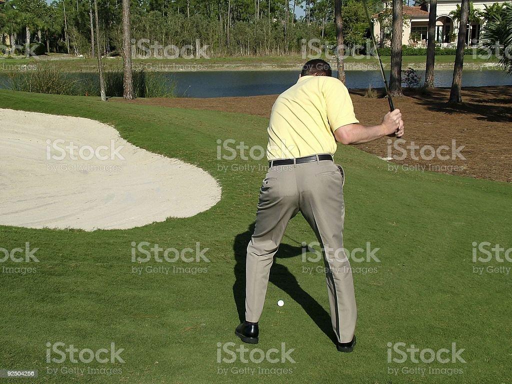 Golf 2 royalty-free stock photo