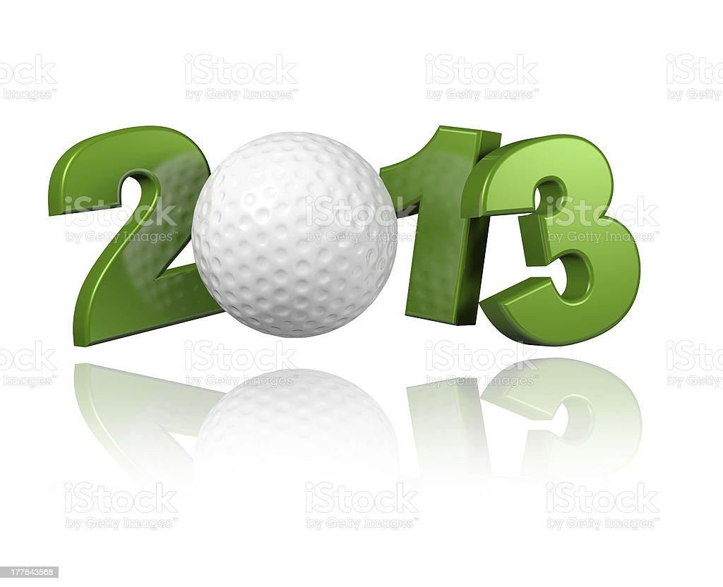 Golf 2013 royalty-free stock photo