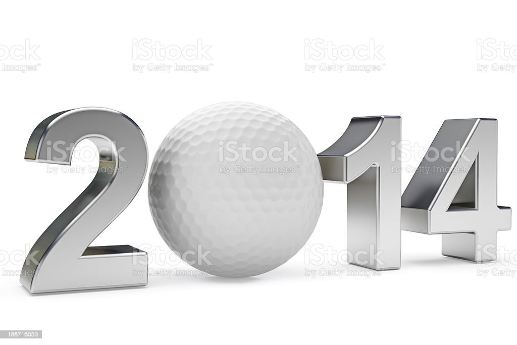 Golf 2014 royalty-free stock photo