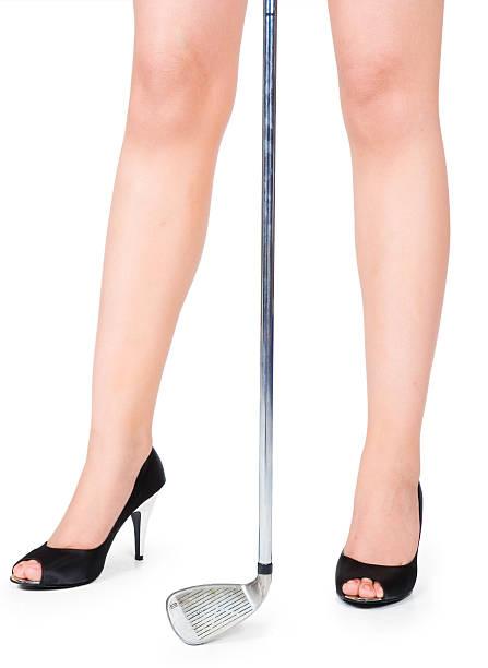 ゴルフはお好き?! - 脛 ストックフォトと画像