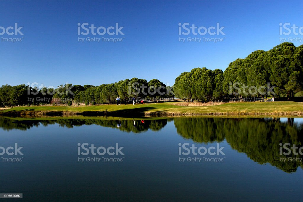 Golf Area stock photo