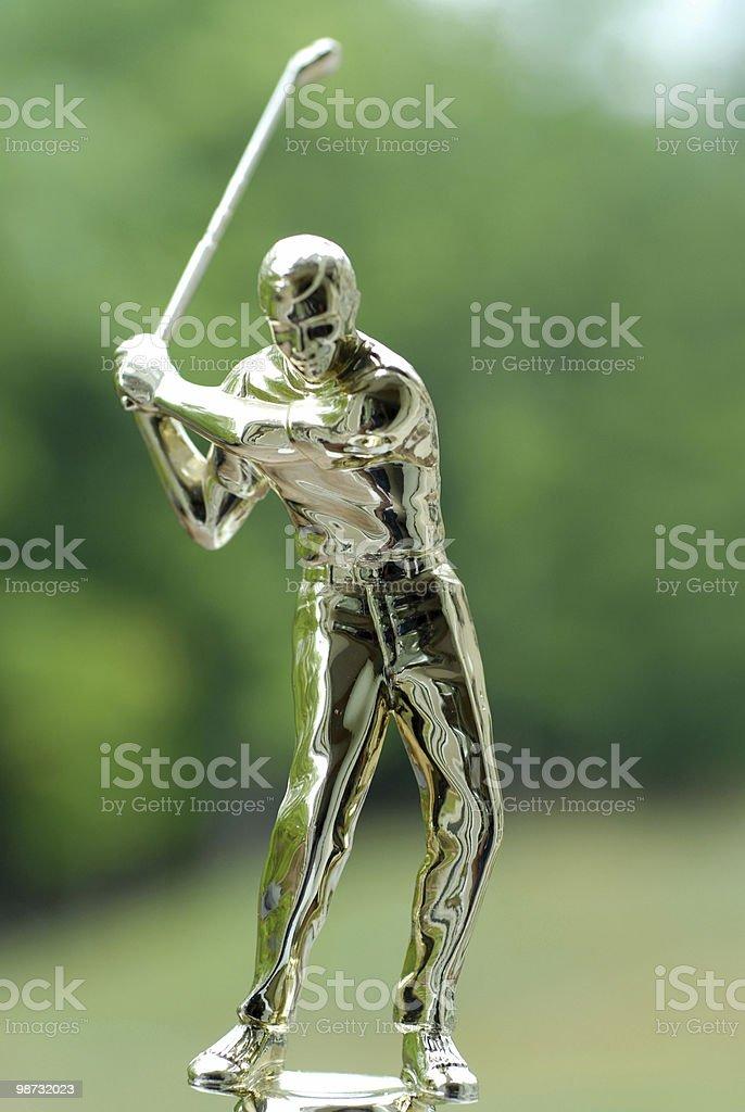 Golf award royalty free stockfoto