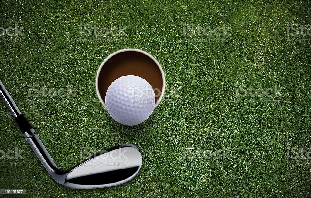 Golf Background stock photo