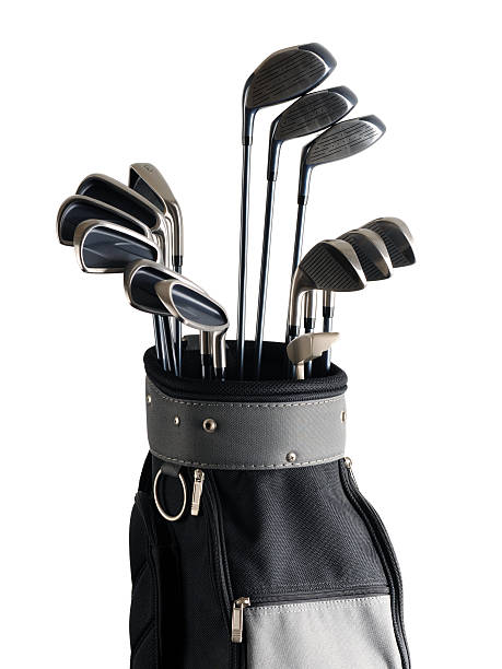 Golf Bag and Clubs - XLarge stock photo