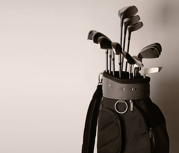 Golf Bag and Clubs - XXXLarge stock photo
