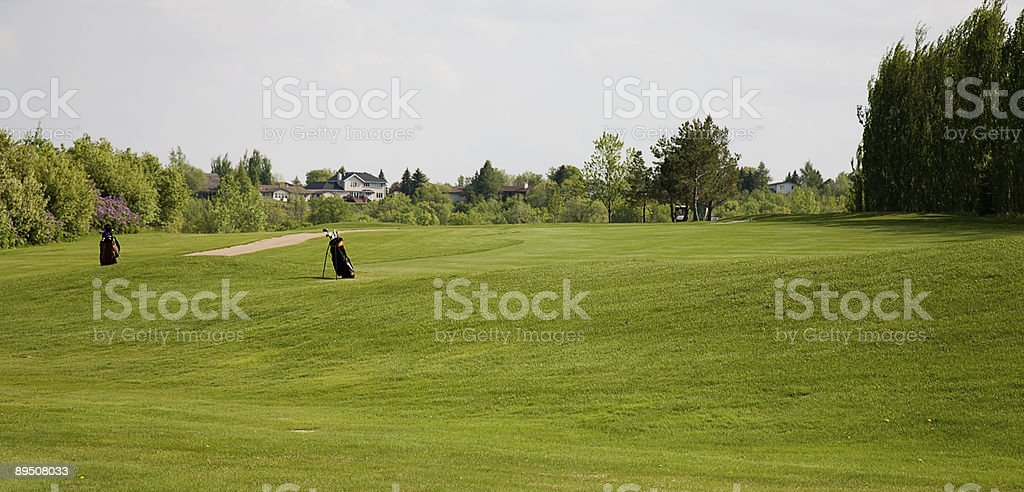 Golf Bags royalty-free stock photo