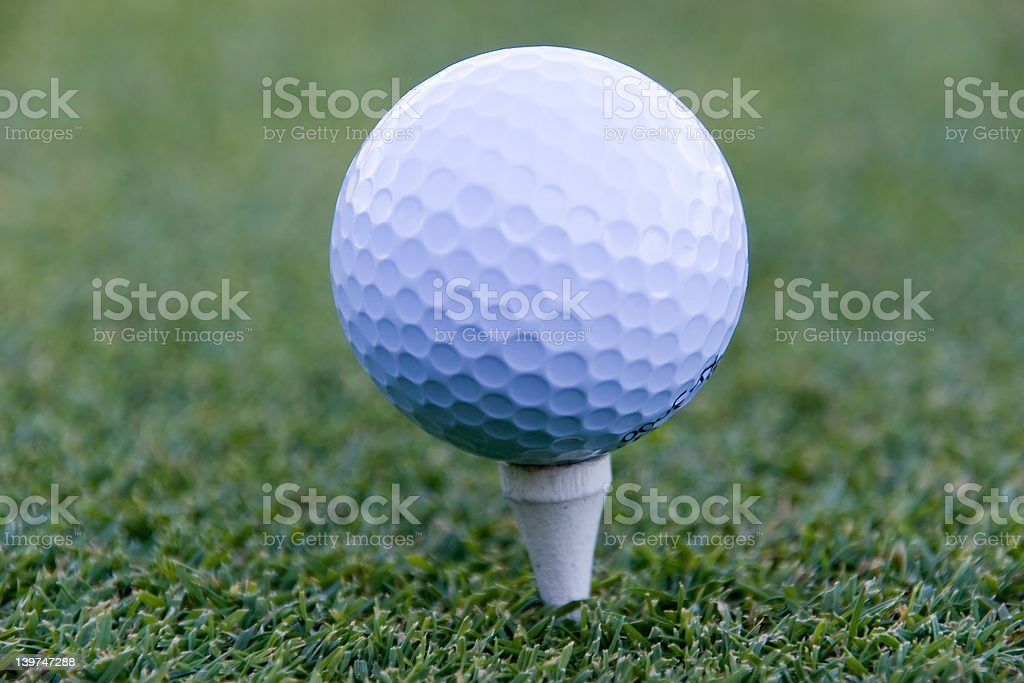 golf ball 03 royalty-free stock photo
