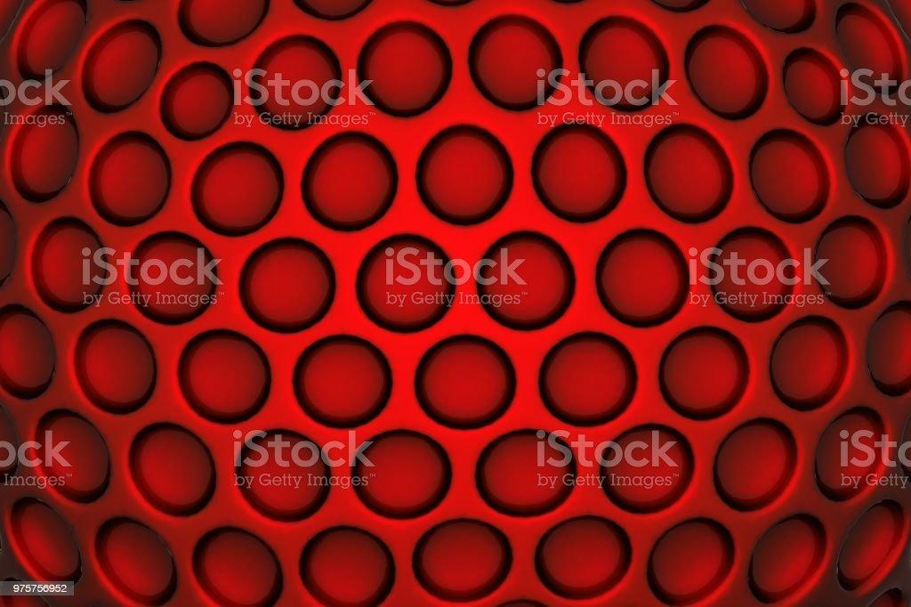 Golf Ball Hintergrund - Lizenzfrei Abstrakt Stock-Foto