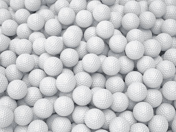 Golf ball background. Sport concept 3d render of golf ball background. Sport concept golf ball stock pictures, royalty-free photos & images