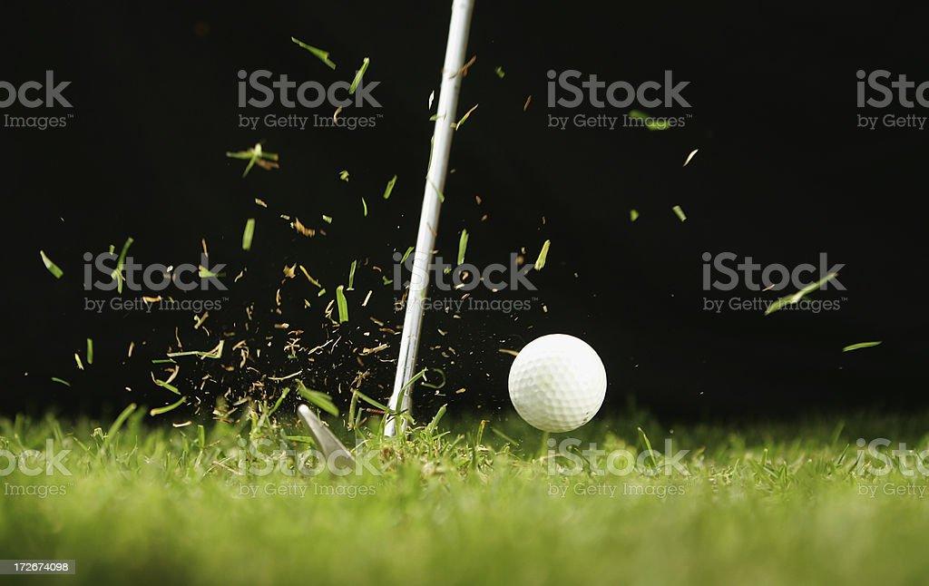 Golf Ball verletzt – Foto