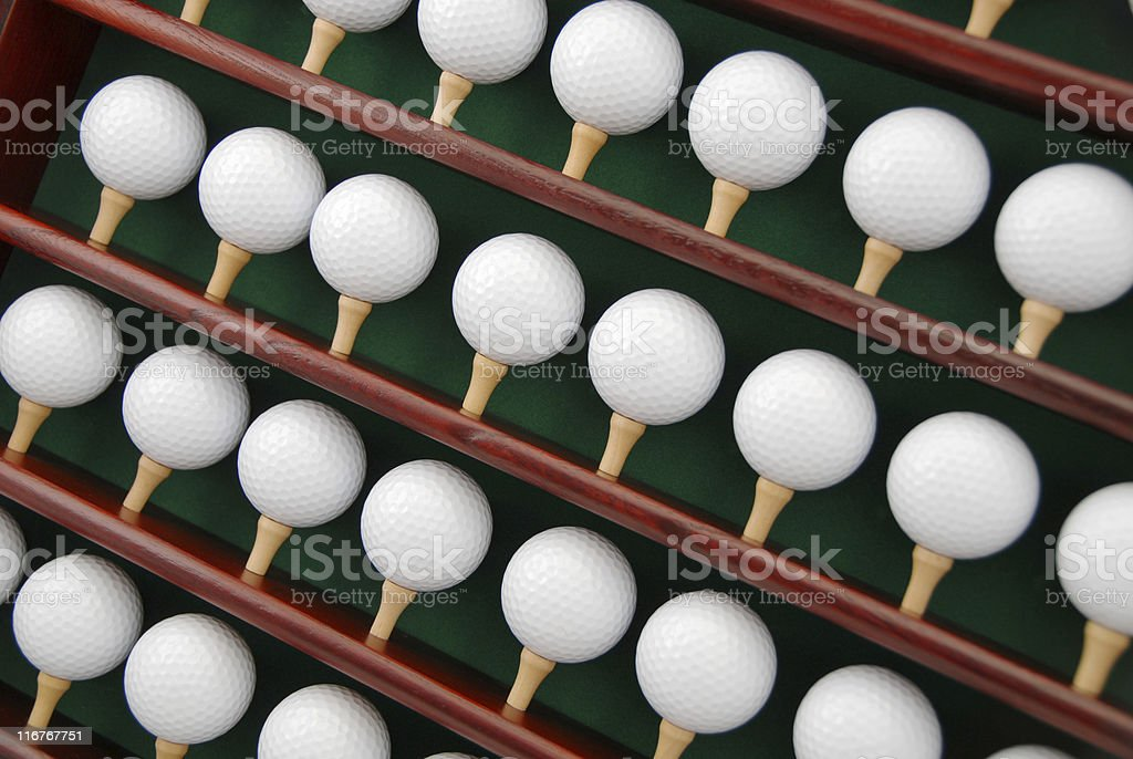 Golf Ball Display Case Stock Photo - Download Image Now ...