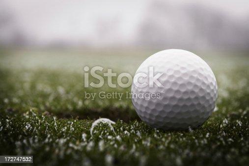istock Golf Ball & Frost 172747532