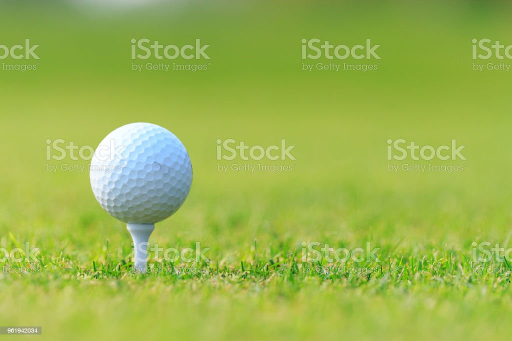 Golf Ball On Tee Stock Photo Download Image Now Istock