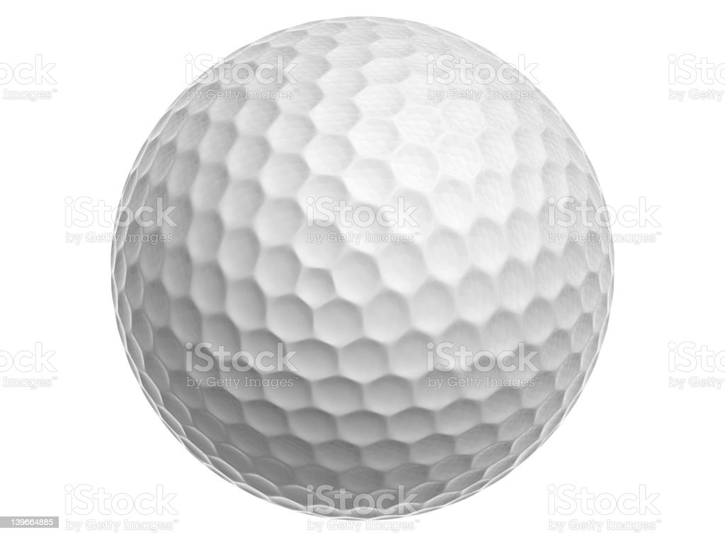 Golf Ball stock photo