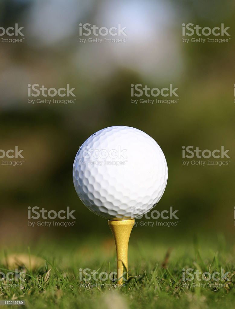 Golf Ball royalty-free stock photo