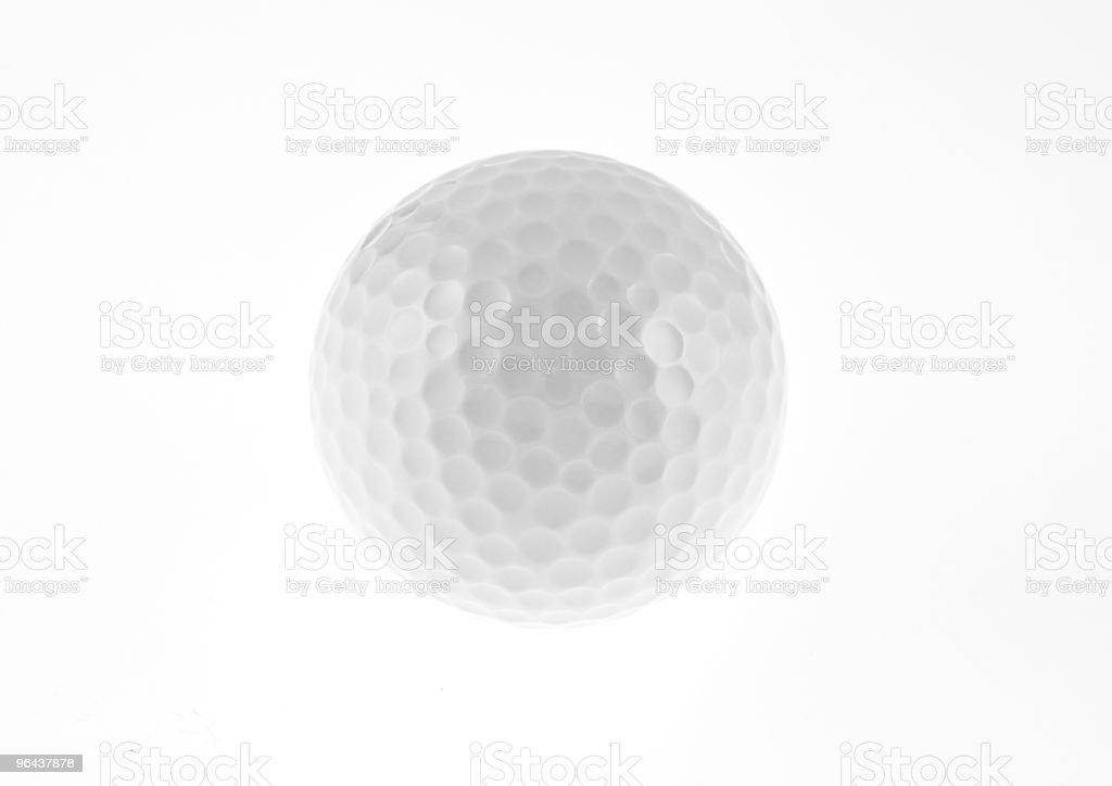 Bola de golfe - Foto de stock de Bola royalty-free