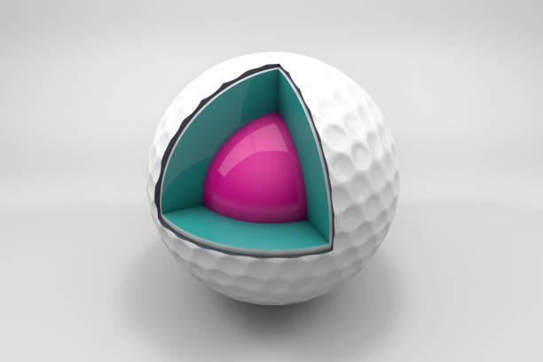 Golf-Ball-Sektionen – Foto