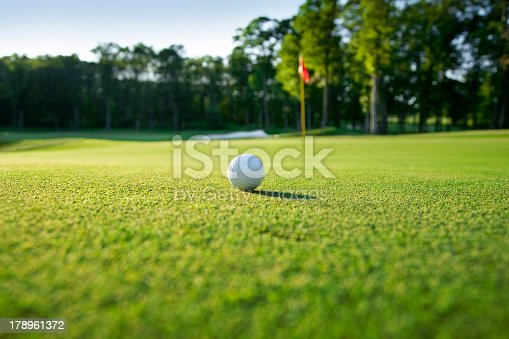Golf ball on green selective focusOthers you may like: