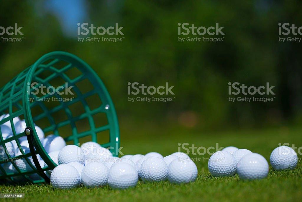 Seau de balles de Golf - Photo