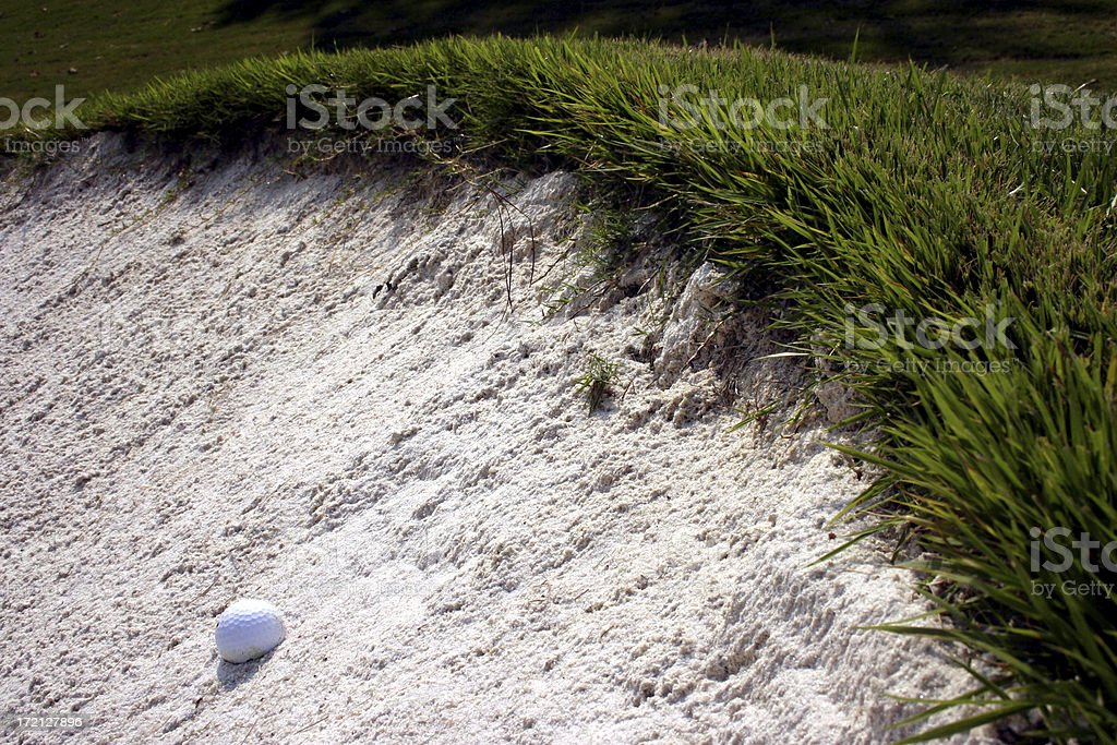 Golf Beach stock photo