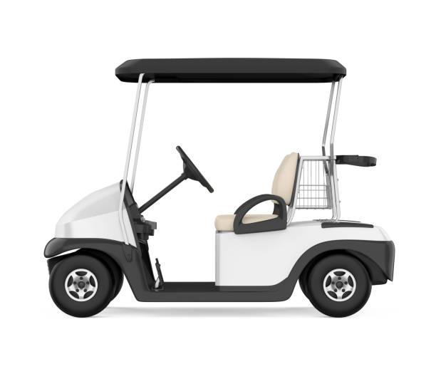 Voiturette de Golf isolé - Photo
