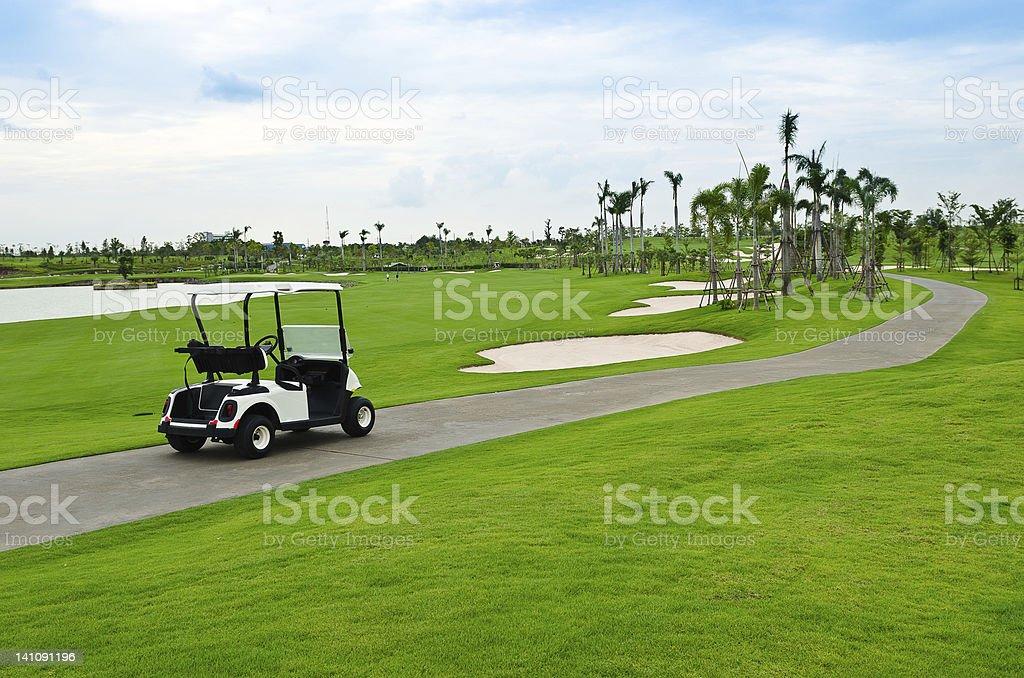 golf cart royalty-free stock photo