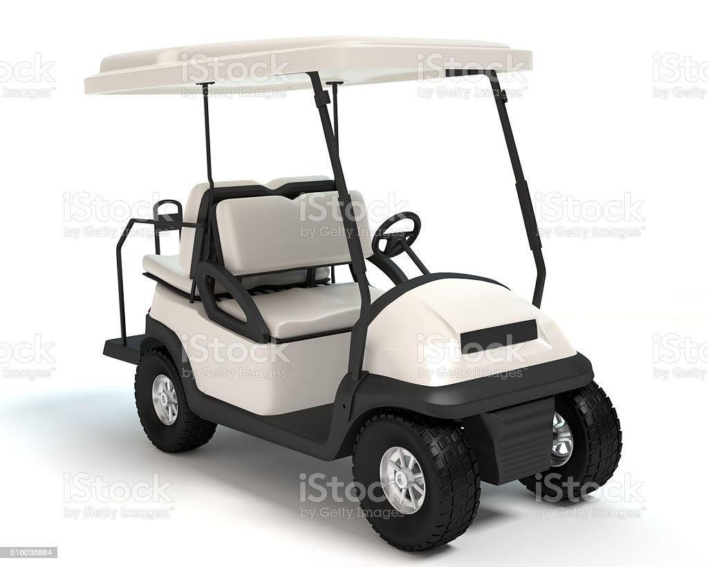Golf Cart stock photo