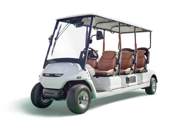 Voiturette de golf avec Six sièges - Photo