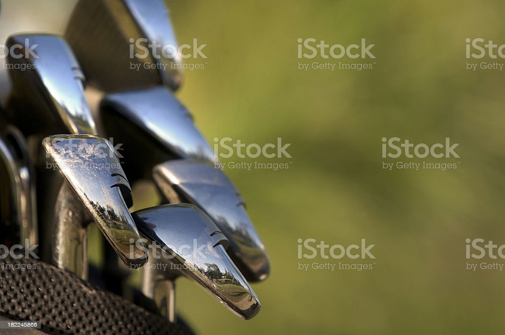 Golf Club Background royalty-free stock photo